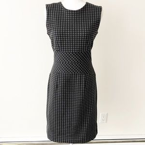 Banana Republic | Black & Grey Knit Sheath Dress